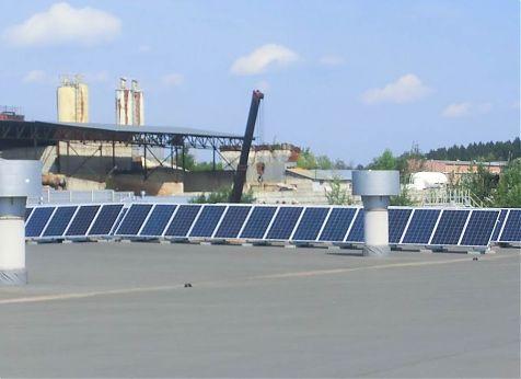 Сетевая солнечная электростанция 220 кВт