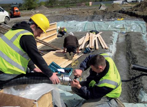 Проект деревни Клохджордан, Ирландия, 2007