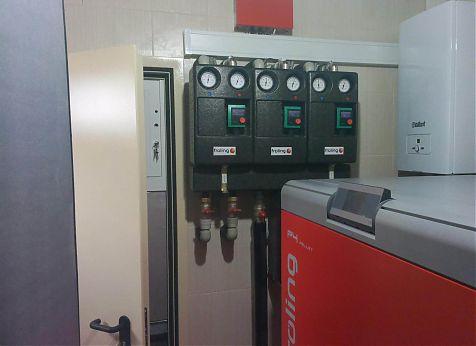Котельная Froling P4 48 кВт на пеллетах. Кировская область, замена котла