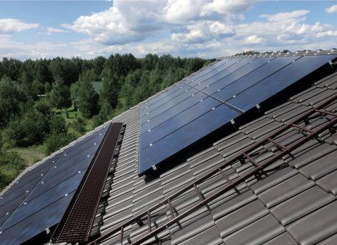 """Солнечная электростанция Fronius Symo 5.0 в автономном доме """"Кедровый ручей"""""""