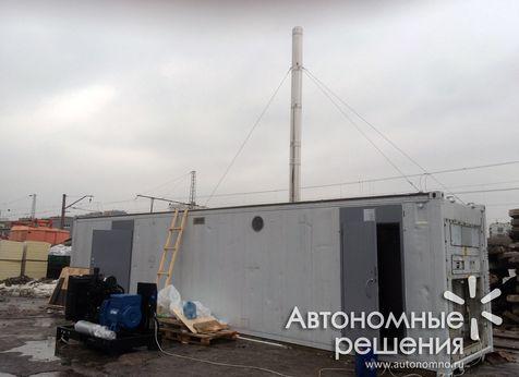 Система отопления на древесной щепе Froling T4 60 кВт отапливает вахтовый посёлок в Якутии
